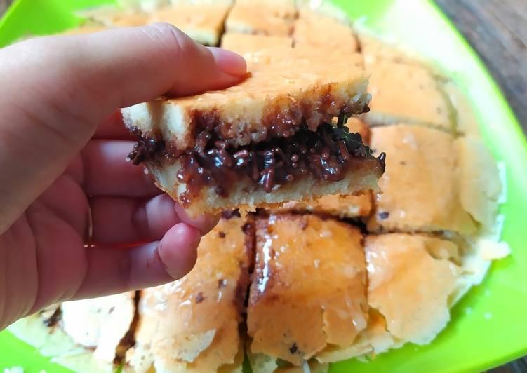 #28. Martabak Teflon Coklat Keju Anti Gagal