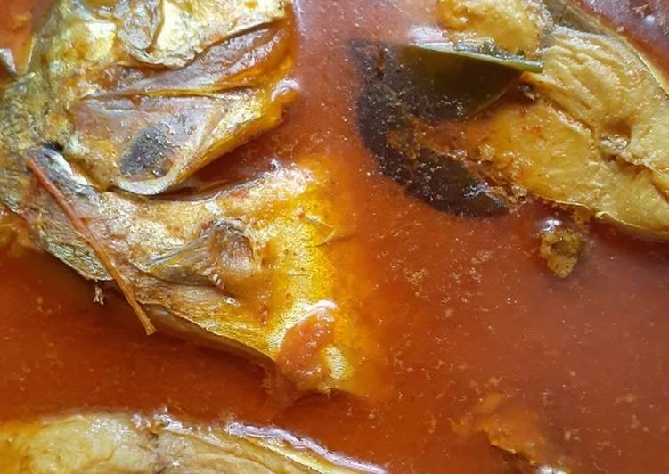 Cara Memasak Gulai Ikan Kuwe Enak