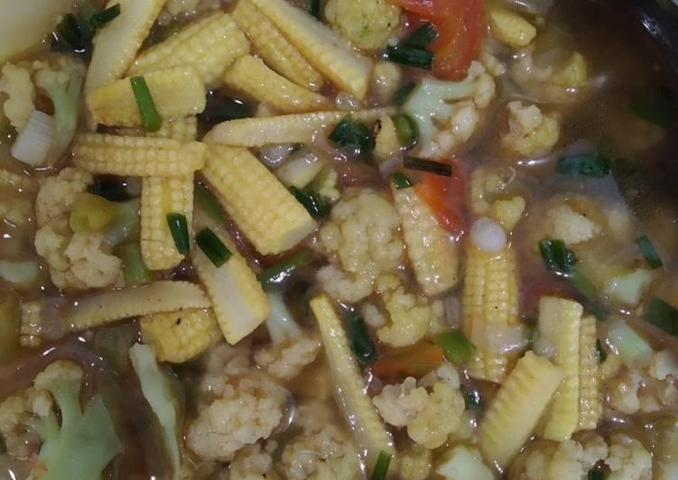 Resep Tumis Bunga Kol Dan Baby Corn Wajib Dicoba
