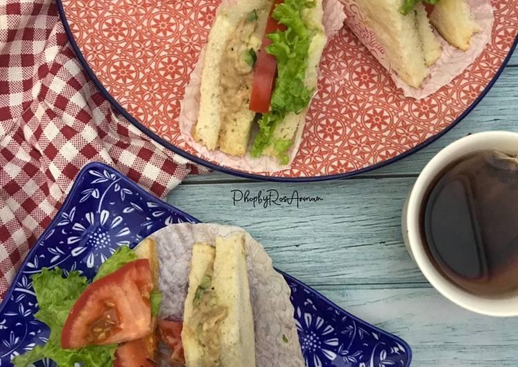 Cara Mudah Masak: Tuna Sandwich  Enak