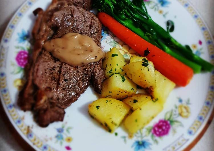 Easiest Way to Prepare Super Quick Homemade Pepper steak