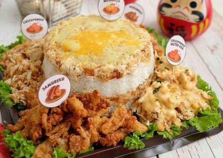 Cake nasi tumpeng |ala gepureku
