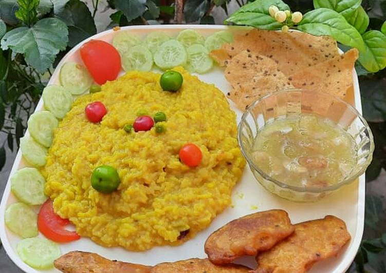 Your State Of Health Can Be Impacted By The Foods You Decide To Eat Peas Khichdi