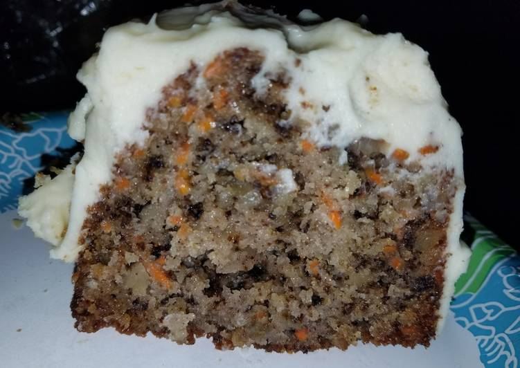 Recipe of Ultimate Carrot Cake with Cream Cheese frosting