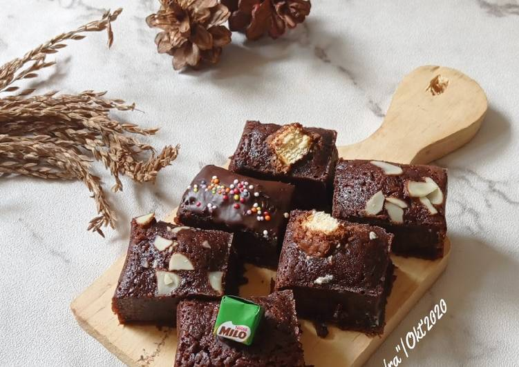 Brownies Potong Kulit Pisang