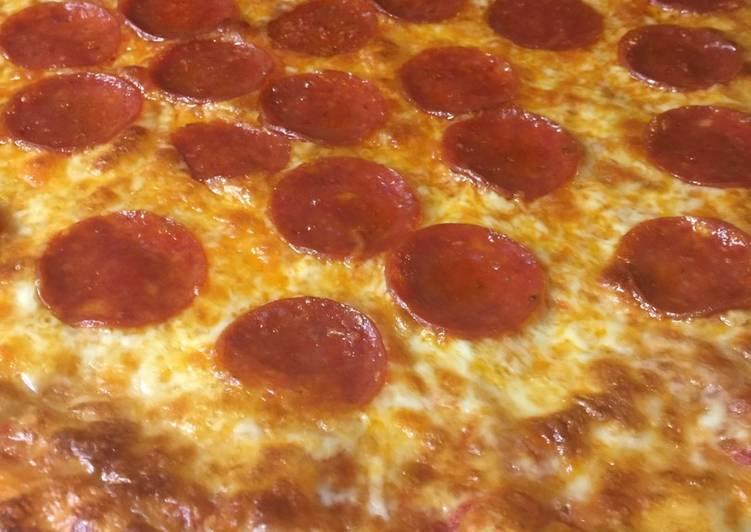 Best semi-homemade pizza EVER!