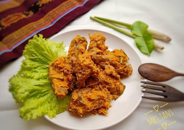 Lawar Ayam Kampung khas Lembata NTT Mantap 💖