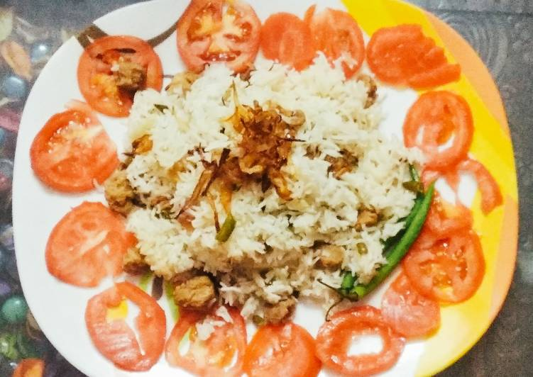 Step-by-Step Guide to Prepare Favorite NUTRELLA AND VEGETABLE pulao