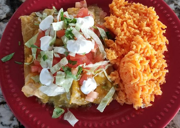 What are some Dinner Easy Spring Cheese Enchiladas