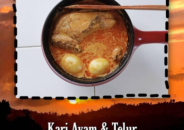 Kari Ayam & Telur - cookandrecipe.com