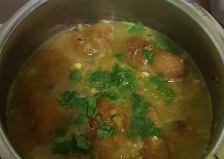 Recipe of Favorite Ghiya pakodi veg