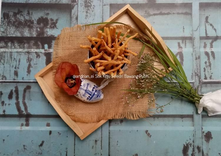 Stik Keju Seledri Bawang Putih