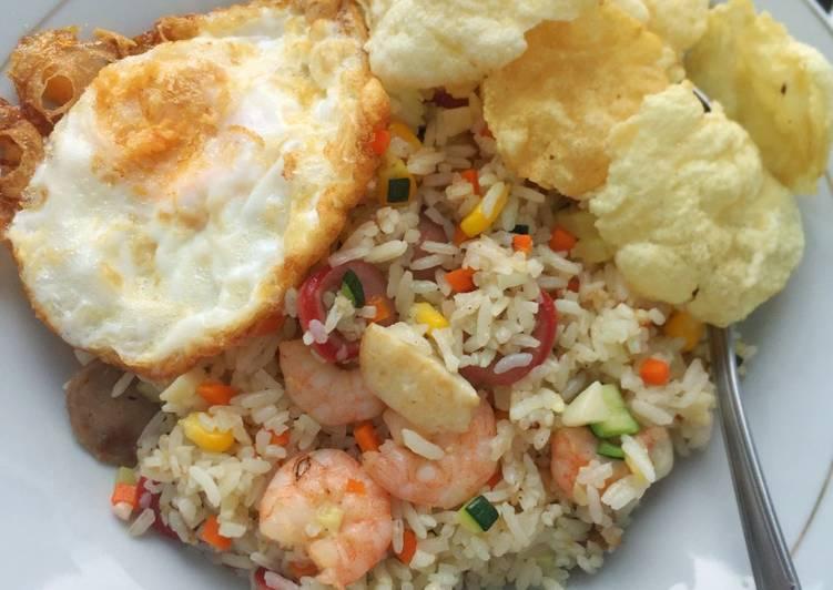 Rainbow Oriental Fried Rice ala Mamii Ocen