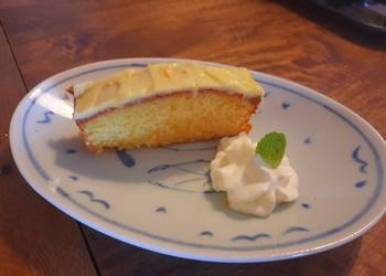 How to Recipe Tasty Easy orange cake with orange icing