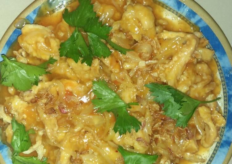 Jamur tiram crispy asam manis.. 😘😘 - cookandrecipe.com