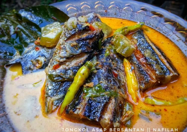 Resep Tongkol Asap berSantan yang Bisa Manjain Lidah | Resep MasakanKu