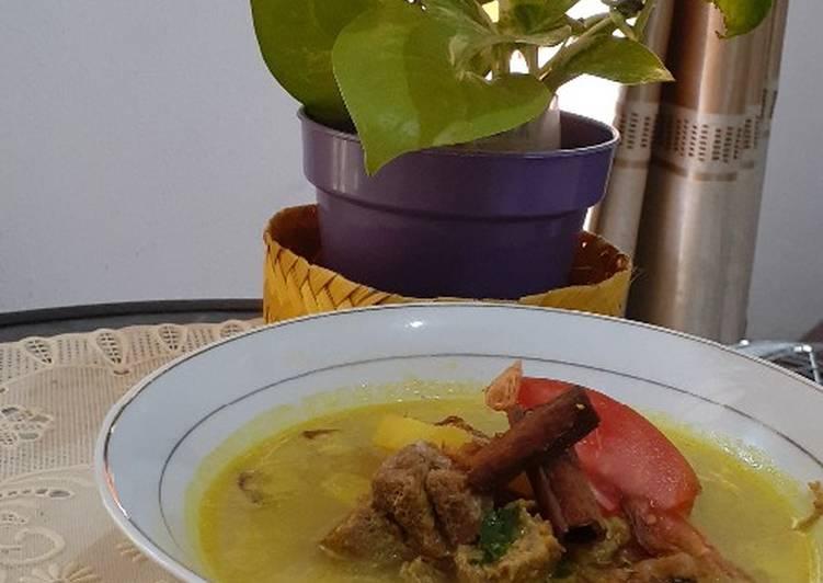 Resep Empal Gentong masak presto enak dan mudah