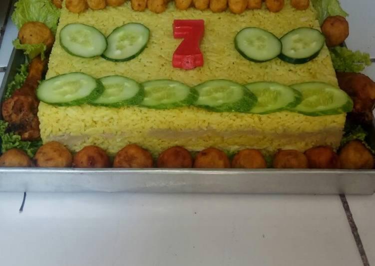 Resep Cake nasi kuning Paling Enak