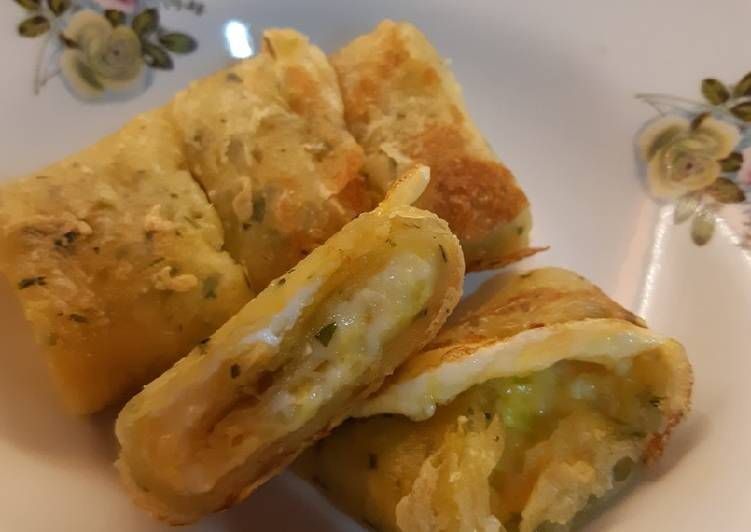 Egg Cheese Crepe Shi Lin ala Homemade