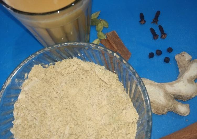 Steps to Make Quick Chai Masala / Tea Masala