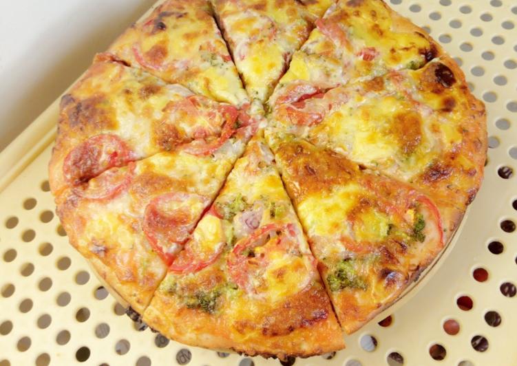 Simple Way to Prepare Favorite Vegetable pizza