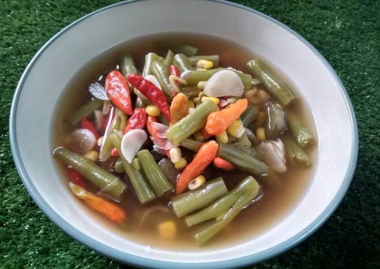 Sayur asem pedas simpel