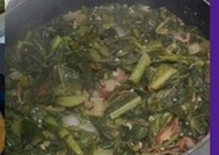 Simple Way to Prepare Quick Slow Cooked Collard Greens