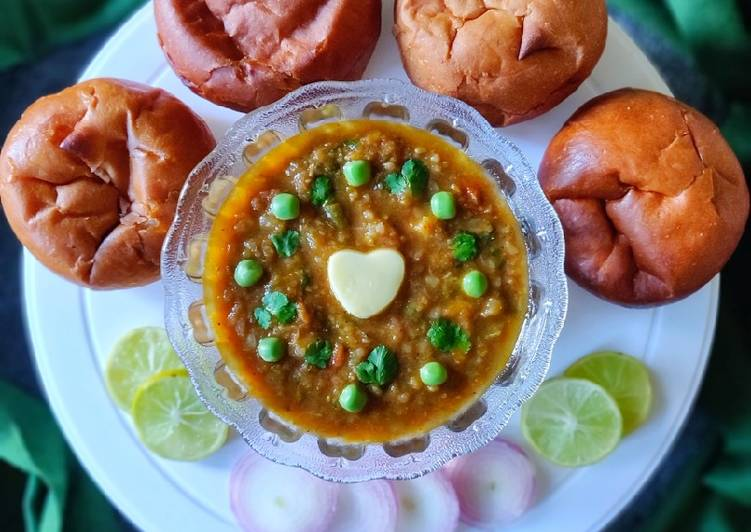 Simple Way to Prepare Perfect Pavbhaji