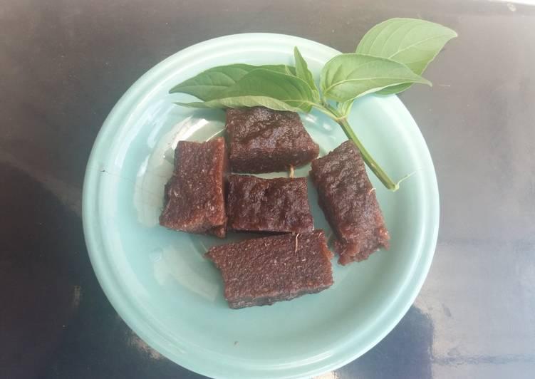 Brownies singkong - cookandrecipe.com