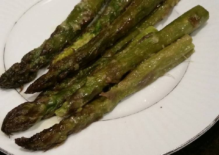 Easiest Way to Cook Delicious Brad's ginger lemongrass asparagus