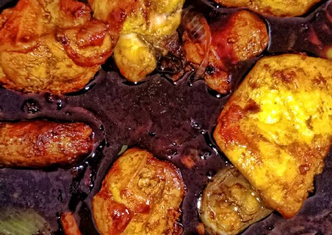 Ayam Kicap Versi Tak Rajin