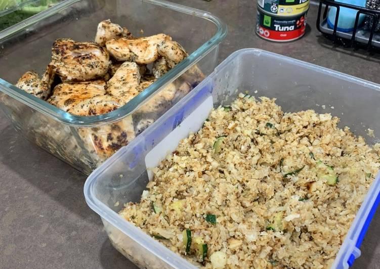 Healthy Beginner Meal-Prep Chicken