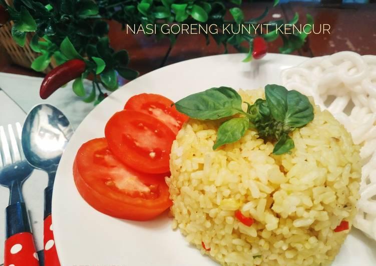 Resep Nasi Goreng Kunyit Kencur Favorit