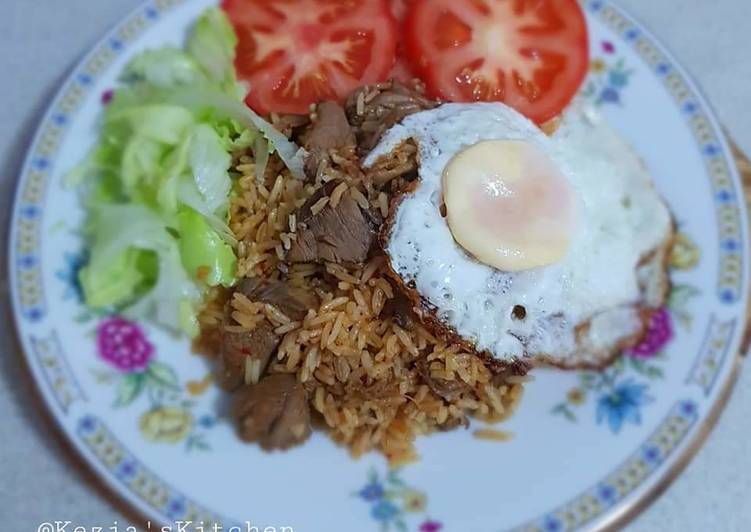 Fried Rice Lamb
