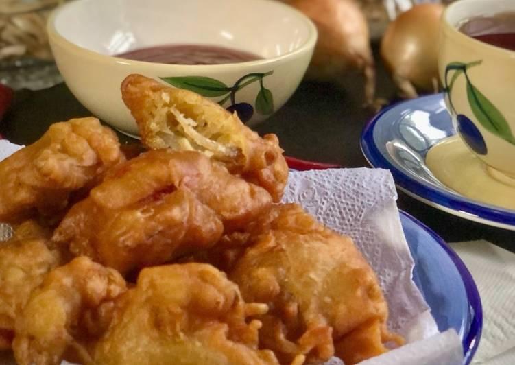 Cucur Bawang, Bilis & Snek Ikan Dahfa/Wanfa