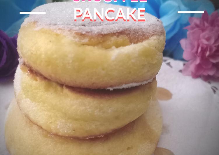 Resep Japanese Shouffle Pancake (Pancake Jepang) Paling Enak