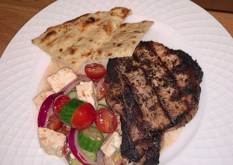 Recipe of Favorite Greek pork chops
