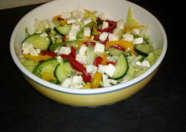 Recipe of Homemade Greek salad