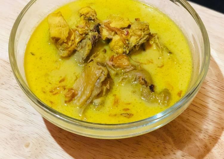 Langkah Mudah Membuat Kare Ayam Kampung sederhana yang Sempurna