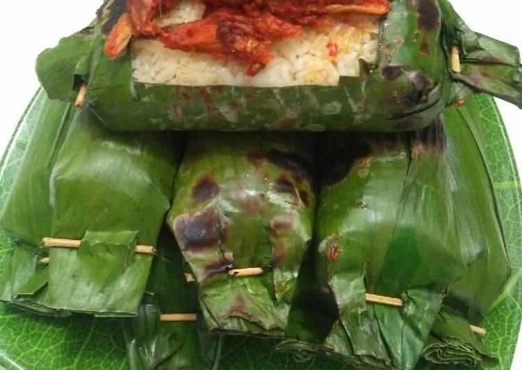Resep Nasi Bakar isi Tongkol yang Bisa Manjain Lidah