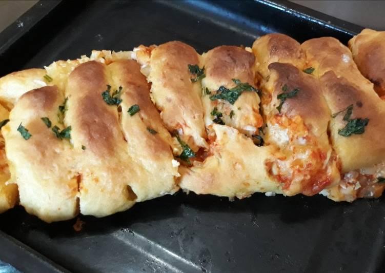 Pizza gulung lembut