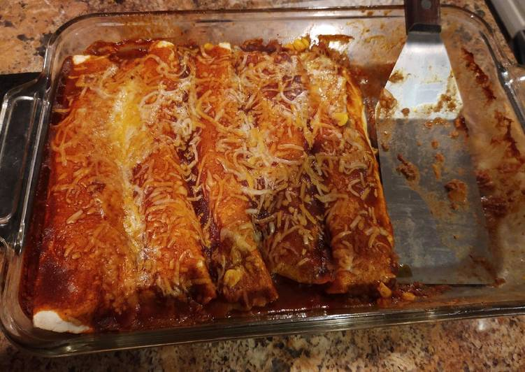 Ground Beef Enchilada