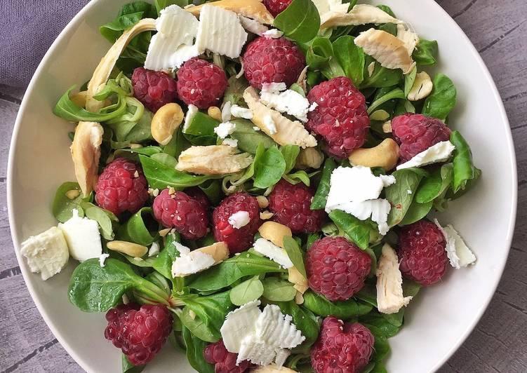 Recette Des Salade 🥗 sucrée - salée