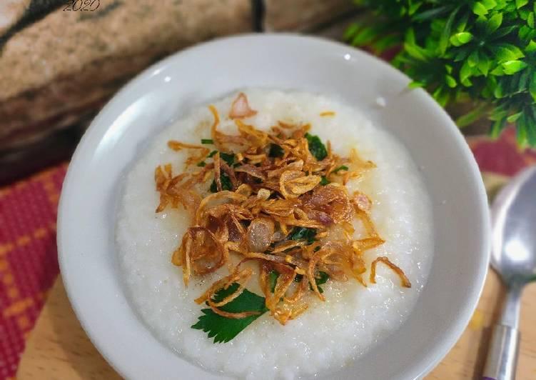 Bubur nasi 5 menit