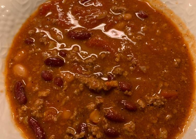 Easiest Way to Cook Yummy Chili With Beans