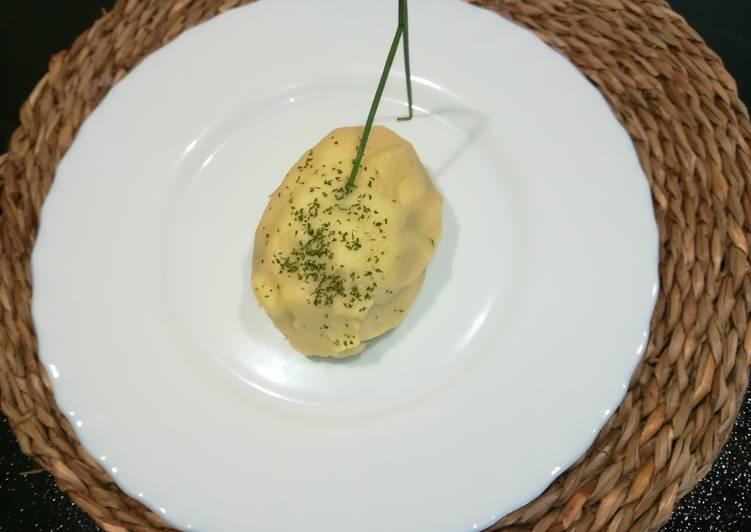 Patatas rellenas de verduras
