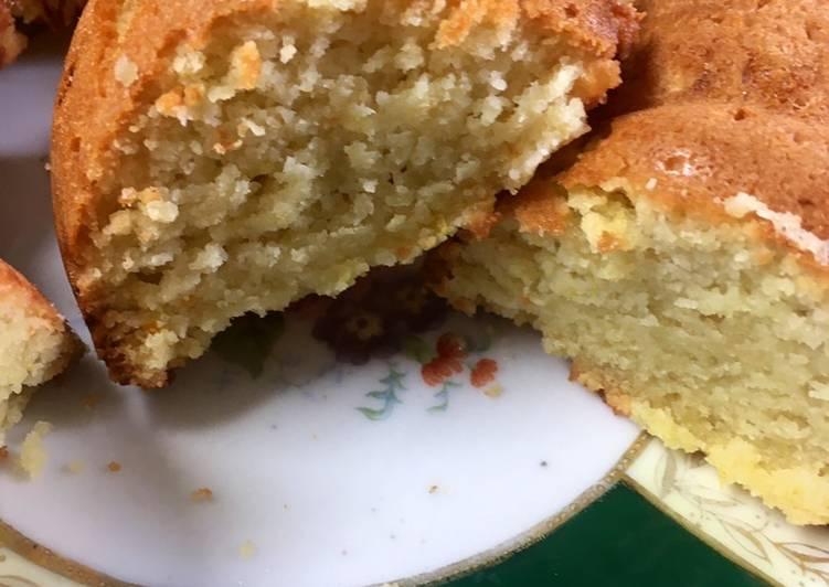 Keto Orange Cake