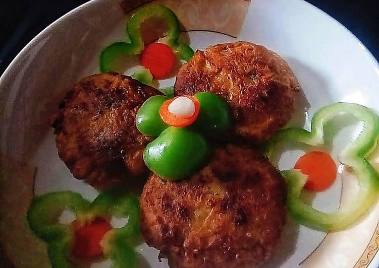 Leftover lentil Kebab