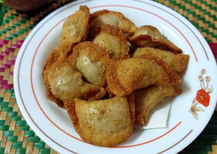 Dumpling daging (goreng)