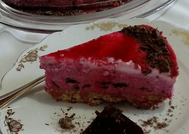 Cheesecake alla barbabietola